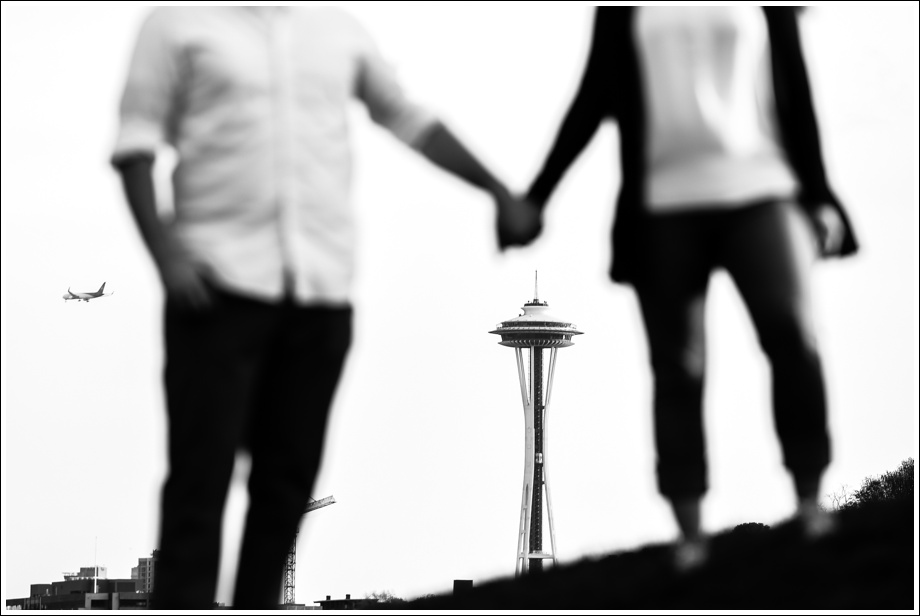 Gasworks and Pike Place Engagement Photos-15