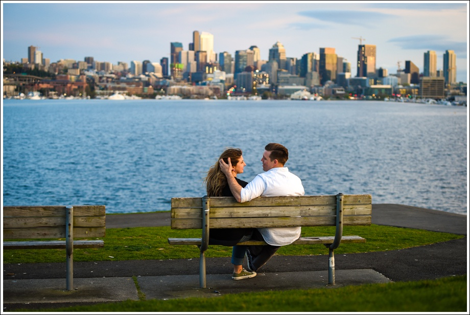 Gasworks and Pike Place Engagement Photos-24