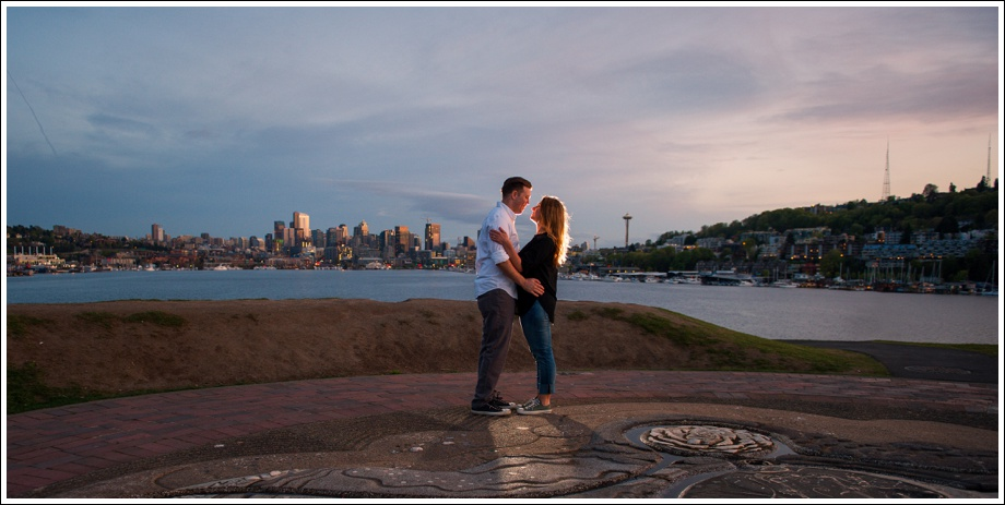 Gasworks and Pike Place Engagement Photos-26