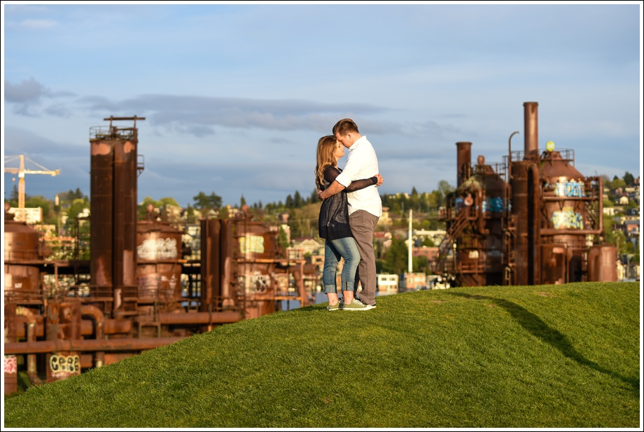 Gasworks and Pike Place Engagement Photos-17
