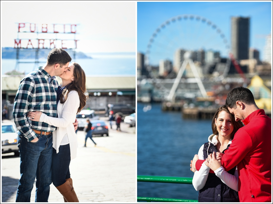 Seattle Ferry Engagement-13