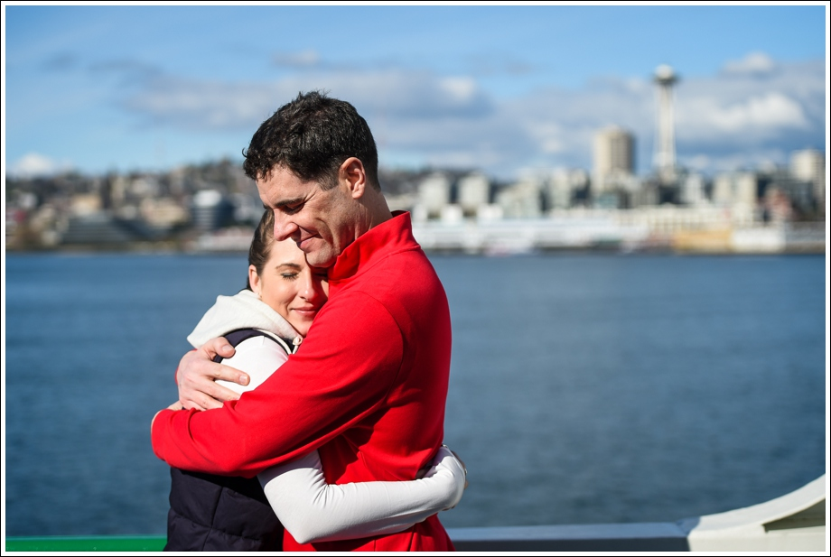 Seattle Ferry Engagement-17