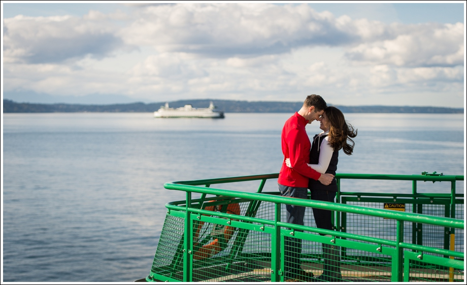 Seattle Ferry Engagement-18