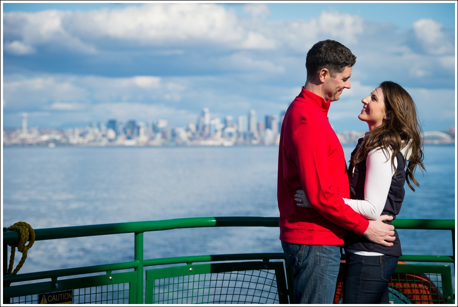 Seattle Ferry Engagement-21