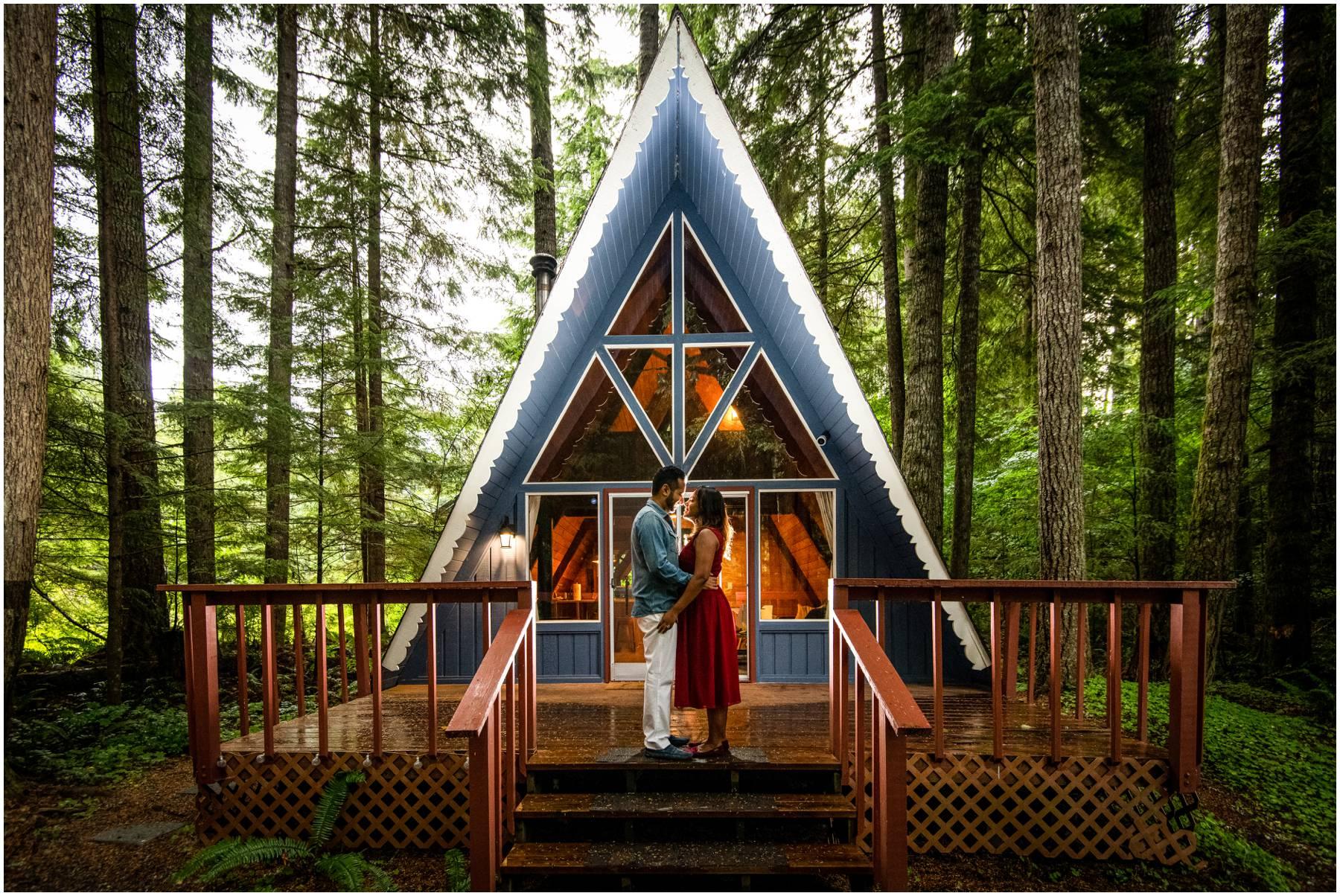 Airbnb in Ashford near Mt. Rainier.